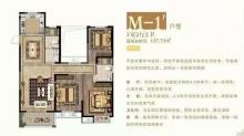 M-1户型图