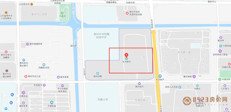 东润首府区位图